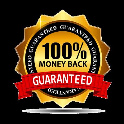 100% Moneyback GUARANTEED