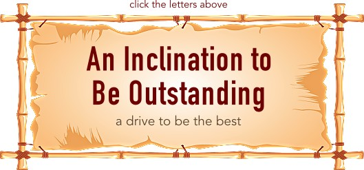 An Inclination to Be Outstanding