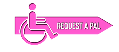 [Button] Select PAL assistance for disabled persons